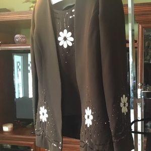 Maxie Klein beautiful flower sparkles suit boho
